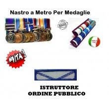Nastrino Bombato Istruttore di Ordine Pubblico Art.CC-N4