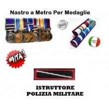 Nastrino Bombato Istruttore Polizia Militare  Art.CC-N6