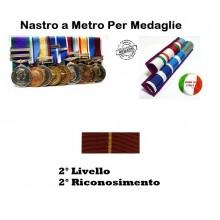 Nastrino Bombato Polizia di stato 2 Livello 2 Riconoscimento Art.PS-N2