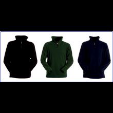 Maglione Maglia Pile Mezza Zip Blu Nevy Nero Verde OD Art.BRK-PILE