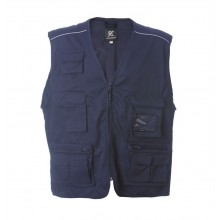 Gilet Multitasche New Safari Blu Navy 118  Soccorso Sanitario JRC Art. 987530