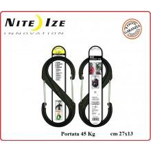 Moschettone Ultra Resistente S-Biner Big Gigante max 45 Kg Nite Ize   Art.NI412