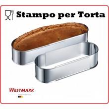Stampo Ovale Regolabile Per Torta Westmark Art.WE 3135