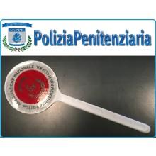 Paletta Segnaletica Ambo le Parti Rosse Associazione Nazionale Polizia Penitenziaria A.N.PPE. Modello NUOVO  Art.ANPPE-NEW