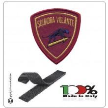 Patch Toppa Polizia di Stato Squadra Pantera Volante Ricamata con Velcro Art.EU522V