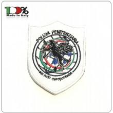 Patch Toppa con Velcro Ricamata Polizia Penitenziaria Servizio Aeroportuale  Art.T-PPA