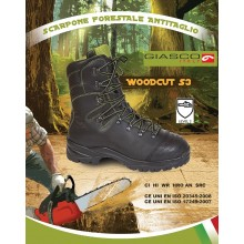 Stivale Pelle Forestale Giasco Italia WOODCUT S3 Art.53L97C