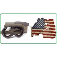 Occhiali Protettivi Antipolvere M44 con Contenitore Modello US Art.255015