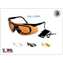 Occhiale Occhiali Poligono Tiratore Glory Vega Holster Italia Polizia Carabinieri Vigilanza Art. VEW06