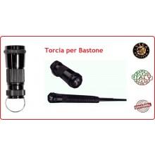 Torcia in Duralluminio per Bastone Estensibile OE99 Vega Holster Italia Art.OE156