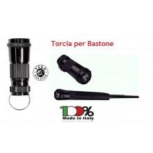 Torcia in Duralluminio per Bastone Estensibile OE99 Vega Holster Italia Art. OE156