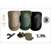 Ginocchiere Professionali Militari Regolabili a Velcro Silent in Neoprene Vega Holster Italia Militari Esercito Carabinieri Soft Air Art.OE30