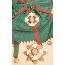 Set Medaglie Cavaliere di Gran Croce Art.Fav.37