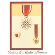 Set Medaglie Ordine di Malta Militare Art.Fav.43