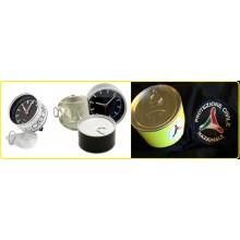 Orologio da Tavolo in Lattina di Alluminio Idea Regalo Protezione Civile con Possibilità di Inserire la Foto Art.LATTA-5