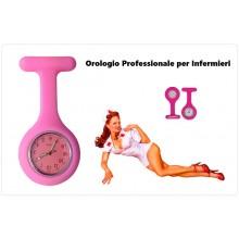Orologio Professionale da Infermiere Tutti i Colori Art.O-INF-R
