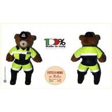 Orsetto Orso Bear Militare Divisa Protezione Civile PC Italiano cm 25 x 53 cm Art.O-PROT-C
