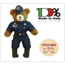 Orsetto Orso Teddy Bear Peluche con Divisa Invernale Guardia Giurata cm 25 x 53 cm Art.F4487