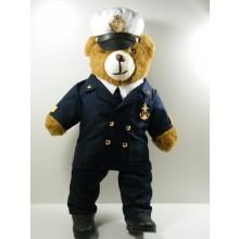 Orsetto Orso Bear Militare Divisa Ufficiale di Marina Militare Italiana ULTIMO PEZZO  Italiano cm 25 x 53 cm Art.MAR-01-01