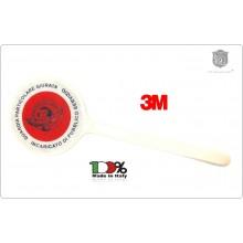 Paletta Segnaletica Ambo le Parti Rosse Guardie Particolari Giurate Incaricato di Pubblico Servizio GPG IPS 1931 AQUILA NEW Art.R-AQUILA-NEW
