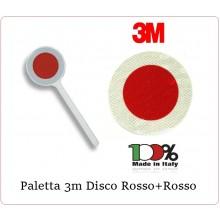 Paletta Segnaletica Stradale Disco Rosso Roso Classe III° Neutra Art.PAL-012