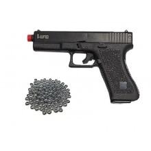 Pistola a Molla HFC Mod. Glock 17 Soft Air Guerra Simulata Giocattolo Art. HA 117B