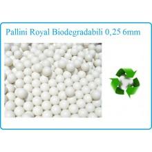 Pallini Professionali Royal Bio 0,25 in Confezione con zip da 4000bb  Soft Air Art.ROYAL-1