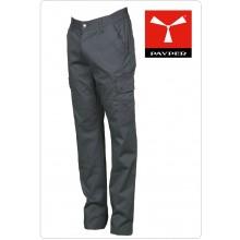 Pantalone Multi Tasche Multistagione con Elastici Laterali Colore Grigio Payper Art.FOREST