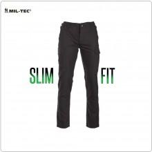 Pantaloni Neri BDU Tattici SLIM FIT Finalmente un Pantalone Tattico Slim Mil Tec Art. 11853102