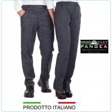 Pantaloni Unisex Cuoco Chef Canada Jeans Pangea 100% Italia Art.CN0300