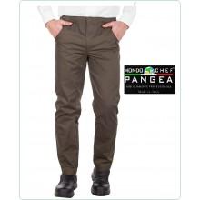 Pantaloni Unisex Cuoco Chef Canada Verde Militare OD Pangea 100% Italia Art.CN0700