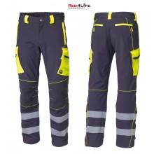 Pantaloni Professionali Certificati Protezione Civile Elasticizzato Novità Red4Life Siggi Art. 08PA1341