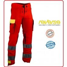 Pantaloni Professionale Certificato Delta Soccorso Sanitario 118 Originali Reverse Art.503HV