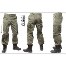 Pantaloni Multitasche BDU Verde OD Venatoria Caccia Federcaccia versione più pesante FINE SERIE SOTTOCOSTO Art.BDU-VERDE