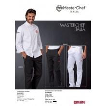 Pantaloni Cuoco Chef Master Chef Masterchef Originali Siggi Horeca Bianchi o Neri Art.26PA0955