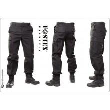 Pantaloni Multitasche BDU Nero Guardie Giurate Vigilanza Polizia Privata  versione più pesante FINE SERIE SOTTOCOSTO Art.BDU-NERO