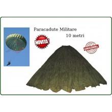 Paracadute Militare Originale Esercito Parà per Collezione o Decorazione FALLSCHIRMKAPPE OLIV GEBR. Sturm Art.914414600