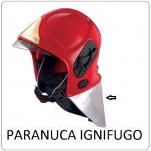Paranuca Para Nuca Ignifugo Sicor VFR 2000 VFR 2009-PRO e Nuovo EVO Vigili Del Fuoco Art.SICOR-COPRINUCA