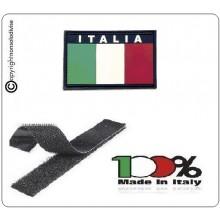 Patch Toppa Gommata con Velcro 3D PVC Italia Art.444110-3512