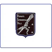 Patch Toppa Ricamata Reparto Sperimentale Volo Aeronautica Militare Art.EU066