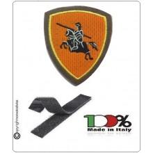 Scudetto Patch Ricamato con Velcro Brigata di Cavalleria Pozzuolo del Friuli Art.EI-F