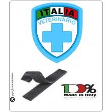 Patch Scudetto Croce Rossa Italiana Veterinario Nuovo Modello  CRI Art.CRI-VE