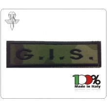 Patch Toppa con Velcro Carabinieri G.I.S. Modello Lineare  Art.GIS-17