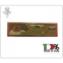 Patch Toppa con Velcro Carabinieri G.I.S. Modello Lineare  Art.GIS-16