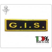Patch Toppa con Velcro Carabinieri G.I.S. Modello Lineare  Art.GIS-15