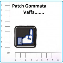 Patch Gommata 3D PVC Fuck FB  Vaffa...  Art.444120-3558