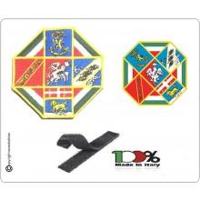 Toppa Patch Ricamata con Velcro Logo della Regione Lazio  Art.LAZIO