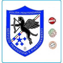 Patch Toppa Plastificata con Velcro Polizia Penitenziaria Servizio Traduzioni Art.T-PPT