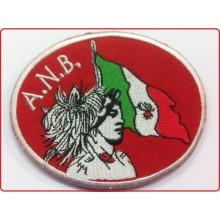 Patch Ricamata A.N.B. Associazione Nazionale Bersaglieri Art.ANB-1
