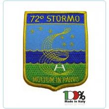 Patch Toppa Ricamata 72° Stormo Aeronautica Militare Art.EU601